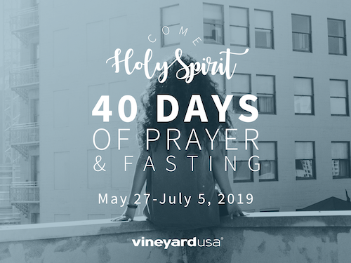 Come, Holy Spirit: 40 Days of Fasting and Prayer – Sioux Falls