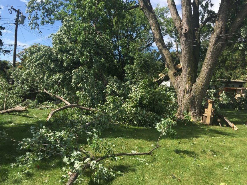 Tornado Damage Sioux Falls